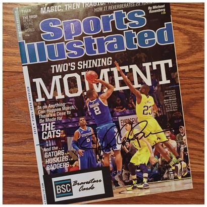 John Calipari TTM Sports Illustrated