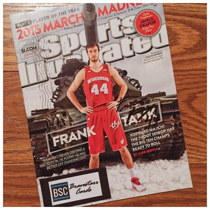 Frank Kaminsky TTM Sports Illustrated