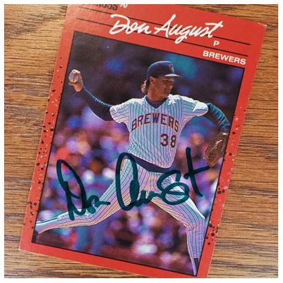 Don August TTM Success