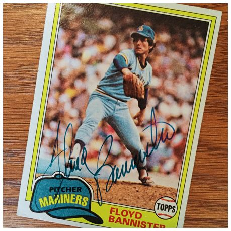 Floyd Bannister TTM Success