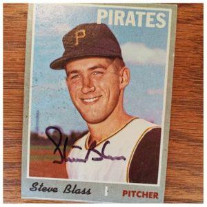 Steve Blass TTM Success