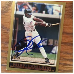 Mike Cameron TTM Success