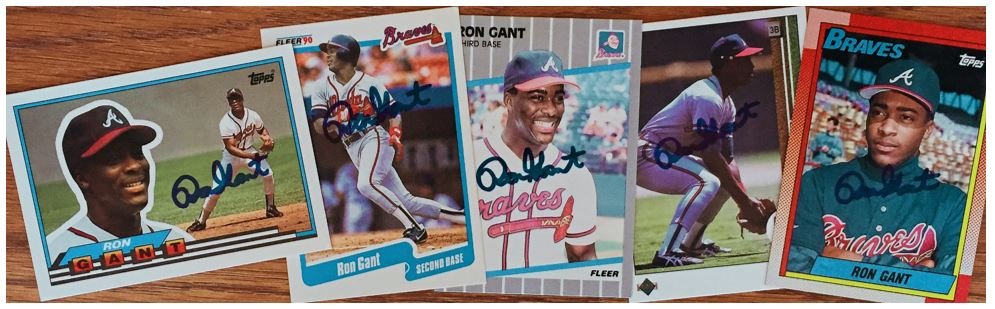 Ron Gant TTM Success