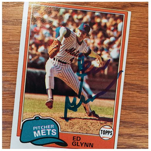 Ed Glynn TTM Success