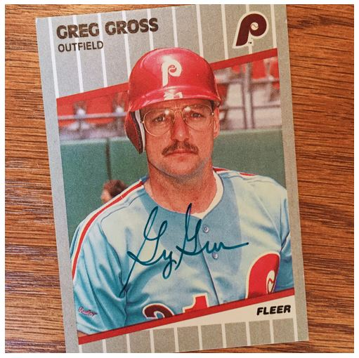 Greg Gross TTM Success