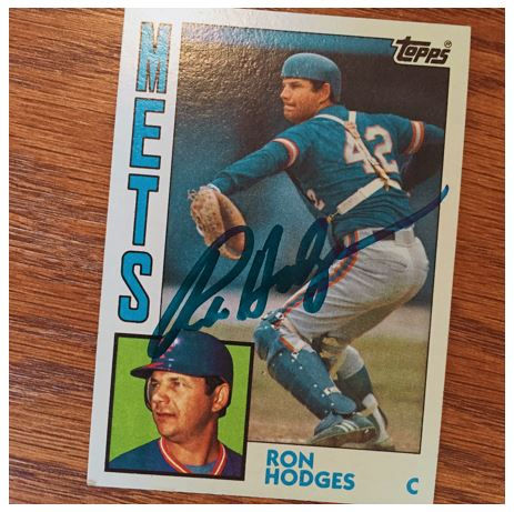 Ron Hodges TTM Success