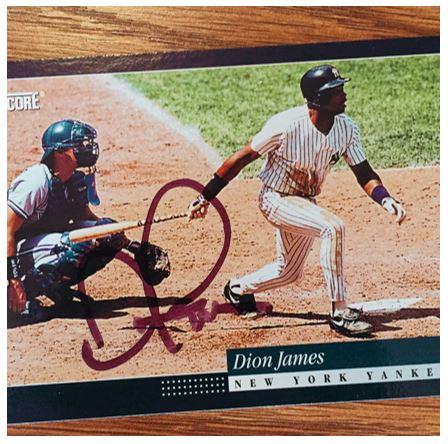 Dion James TTM Success