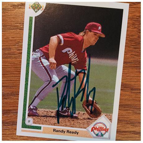 Randy Ready TTM Success