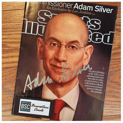 Adam Silver TTM Success
