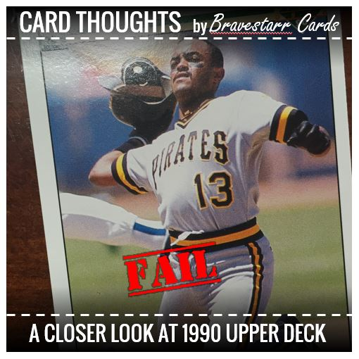 Card Thoughts 4 Epic Fails In 1990 Upper Deck Bravestarr