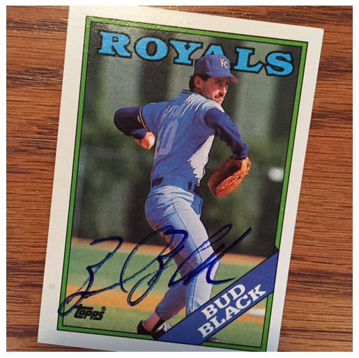 Bud Black TTM Success