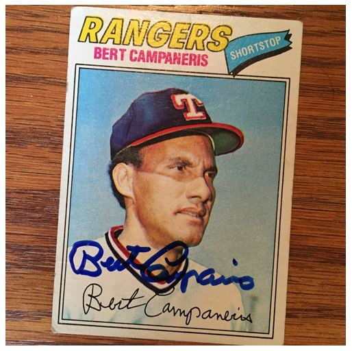 Bert Campaneris TTM Success