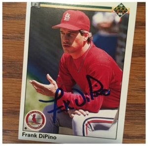 Frank DiPino TTM Success