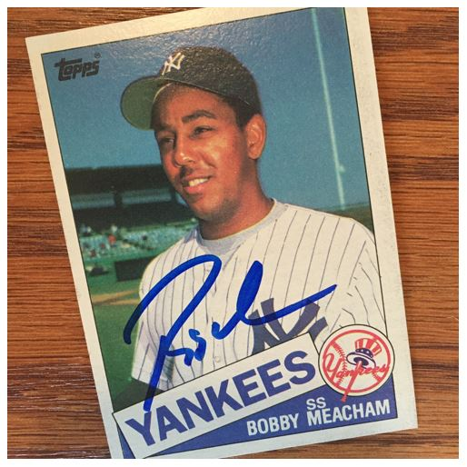 Bobby Meacham TTM Success