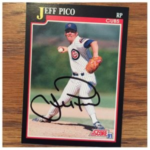 Jeff Pico TTM Success
