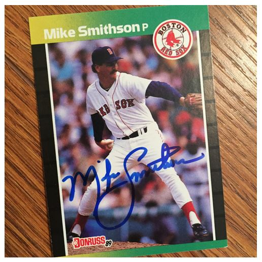 Mike Smithson TTM Success