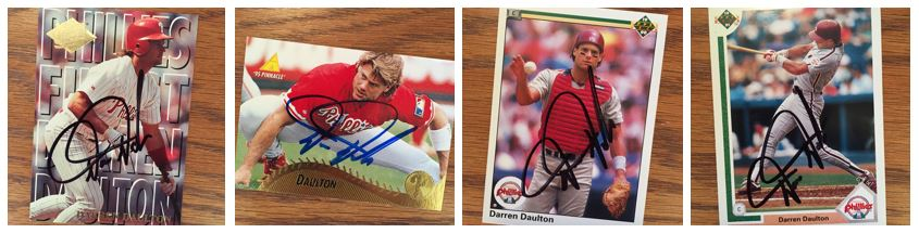 Darren Daulton TTM Success