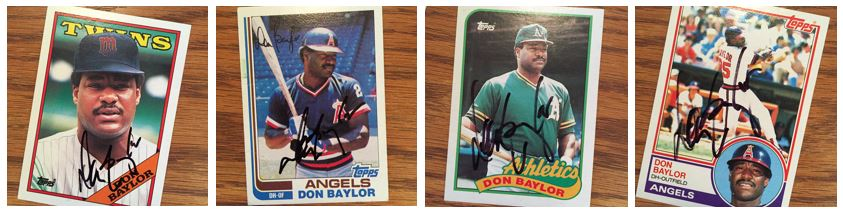 Don Baylor TTM Success
