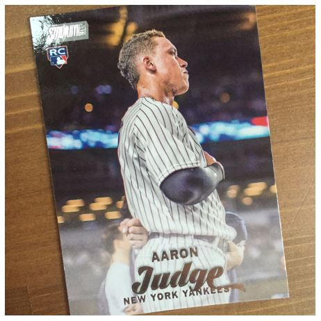 Aaron Judge Topps Stadium Club
