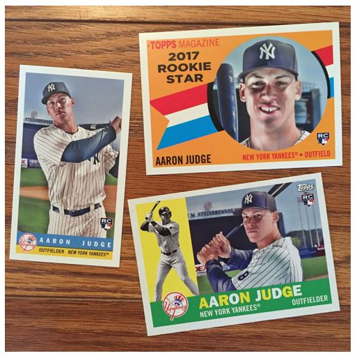 Aaron Judge Topps Archives