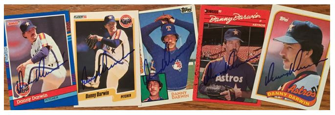 Danny Darwin TTM Success