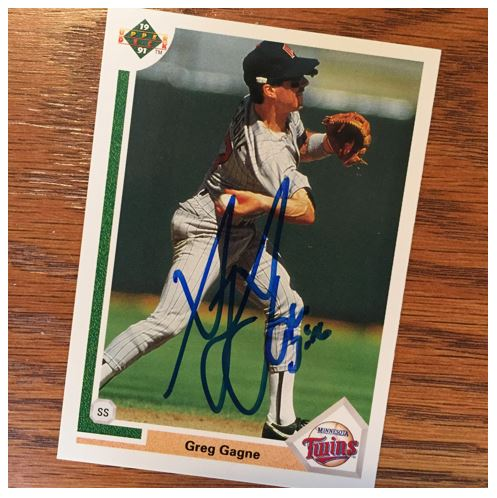 Greg Gagne TTM Success
