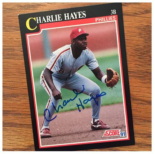 Charlie Hayes TTM Success