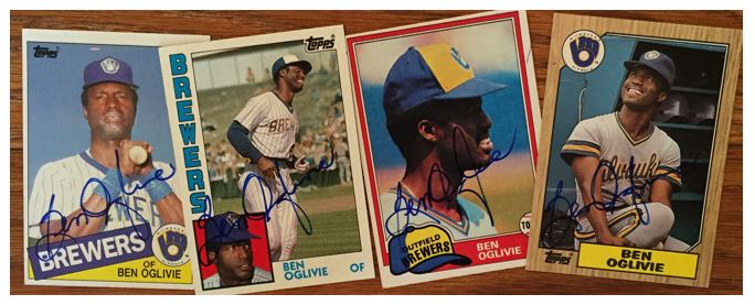 Ben Oglivie TTM Success
