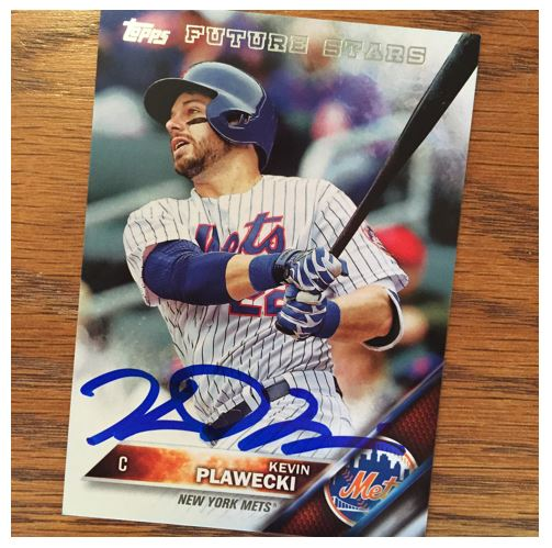Kevin Plawecki TTM Success