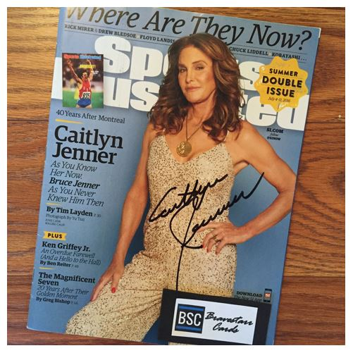 Caitlyn Jenner TTM Success
