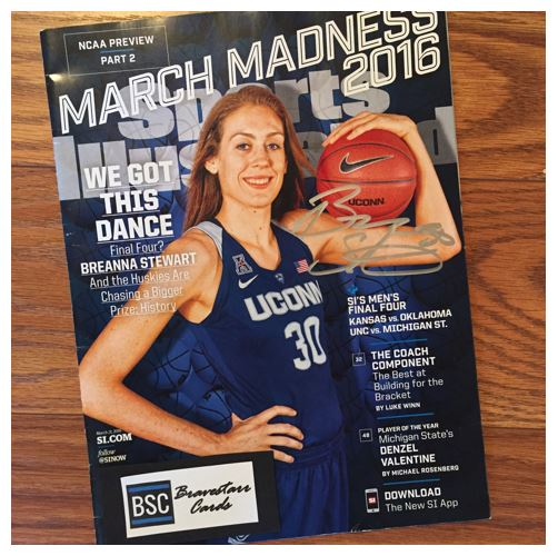 Breanna Stewart TTM Success