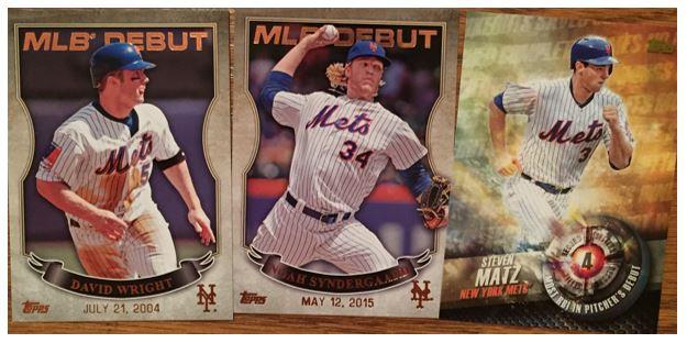 Mets Success 2016 Topps S2 Blaster Pulls