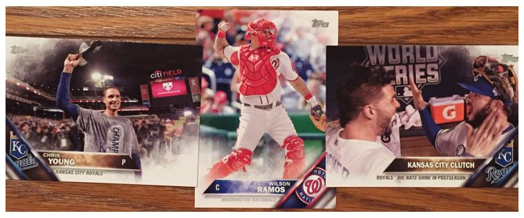 Cards That Kill Me from a 2016 Topps Series 2 Blaster