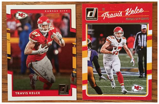 Comparing '16 and '17 Donruss Football