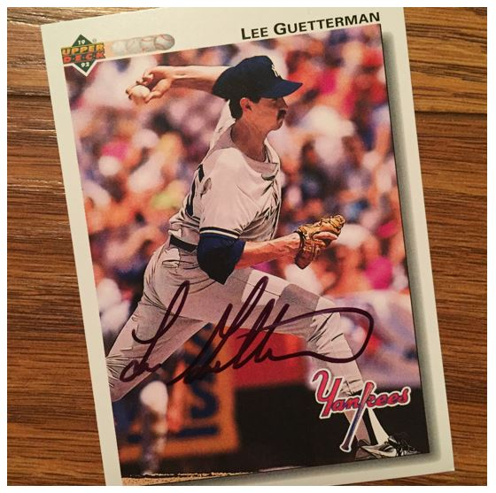 Lee Guetterman TTM Success