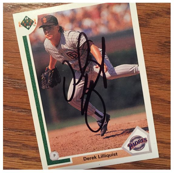 Derek Lilliquist TTM Success
