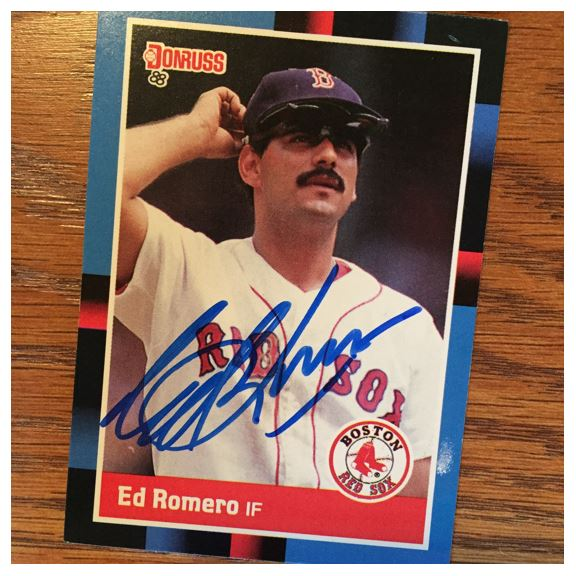 Ed Romero TTM Success