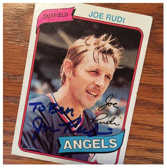 Joe Rudi TTM Success