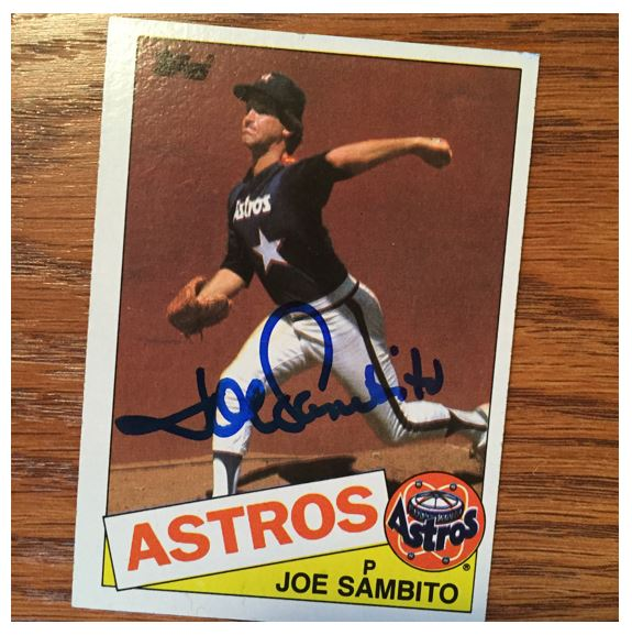 Joe Sambito TTM Success