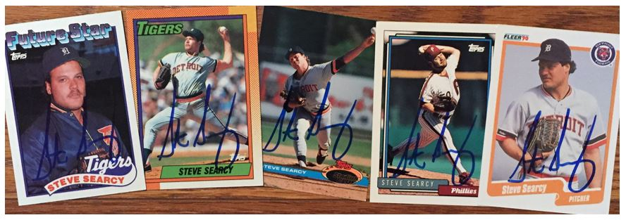 Steve Searcy TTM Success