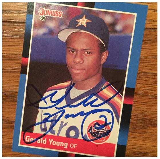 Gerald Young TTM Success