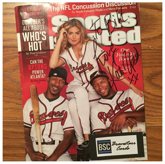 Kate Upton TTM Success