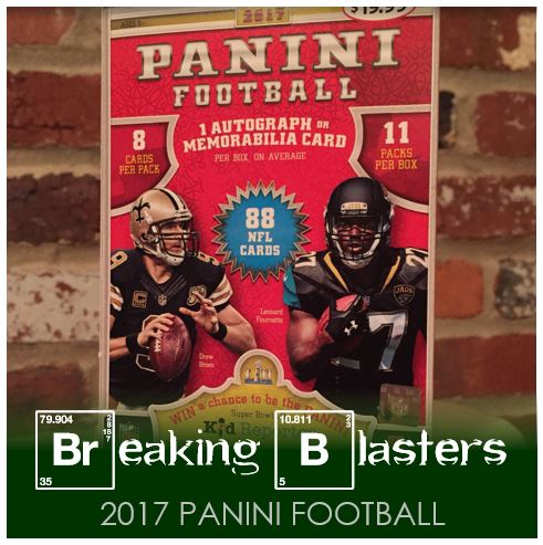 Breaking Blasters: 2017 Panini Football