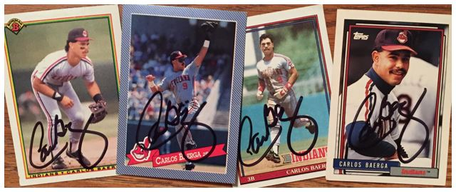 Carlos Baerga TTM Success
