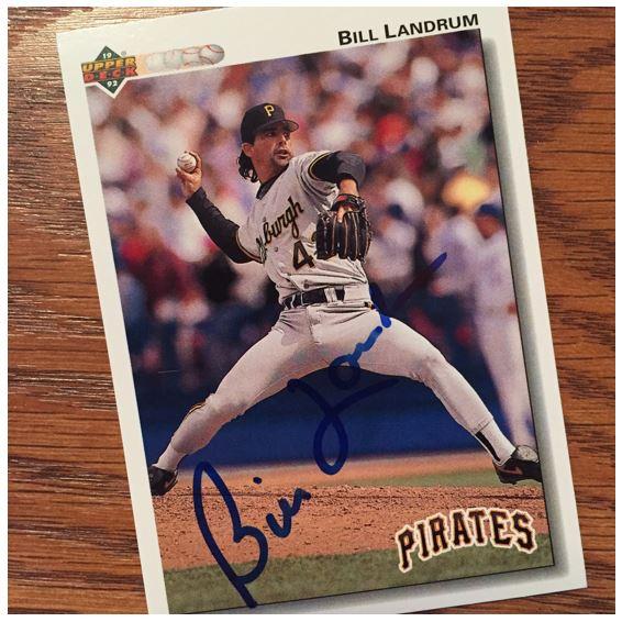 Bill Landrum TTM Success