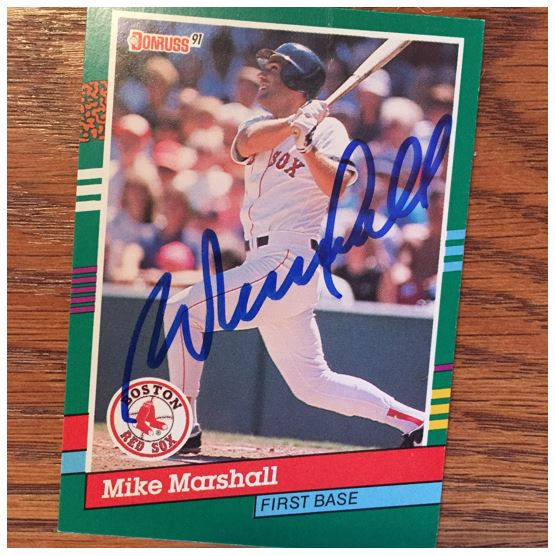 Mike Marshall TTM Success