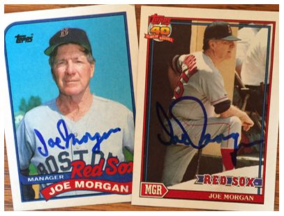 Joe Morgan TTM Success
