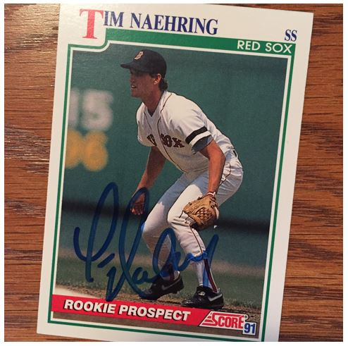 Tim Naehring TTM Success