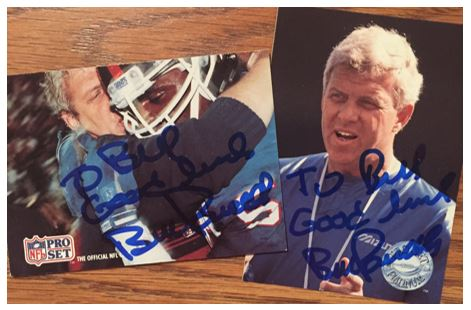Bill Parcells TTM Success