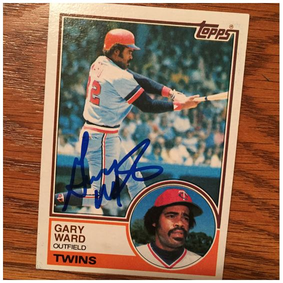 Gary Ward TTM Success